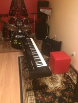 Aluguel de instrumentos para ensaios e gravações