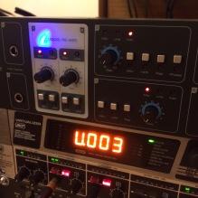 Focusrite Liquid Saffire 56 com Octopre permitindo até 16 canais simultâneos de gravação